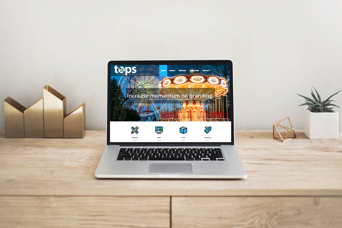 Tops Creative Solutions - Web Design